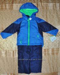 Зимний Комбинезон Carters 2 годика синий