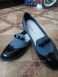 стильные туфли производство Польша Новые