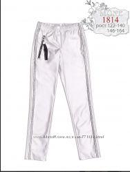 Mone штаны под кожу серебро коллекция Осень-Зима 2019
