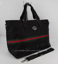 741153a7f9b1 Стильная дорожная сумка в стиле Gucci 39825 черная, 754 грн ...