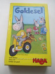 БУ немецкая игра Goldesel от HABA от 3 лет в идеальном состоянии