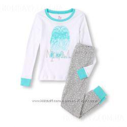 Пижамы хлопковая для девочки Children´ s Place США возраст 3-4 года