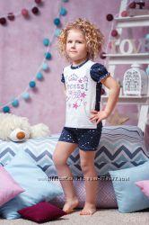 Пижамы для девочек ТМ Зиронька рост 110-122см в наличии