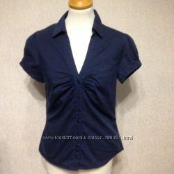 Рубашка-блуза H&M, р. S, М, хлопок