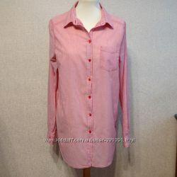 Рубашка H&M женская, р. L, хлопок