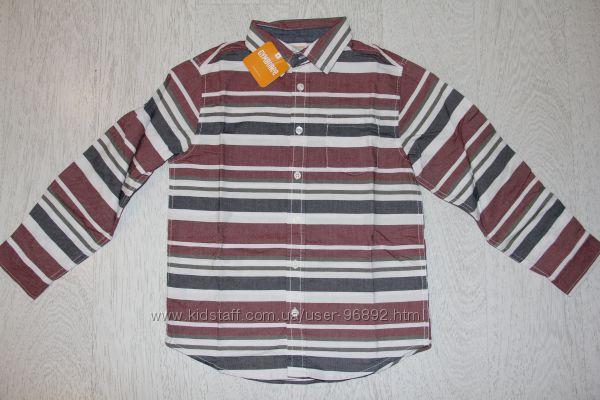 Рубашка Gymboree р-р 7-8, хлопок оксфорд