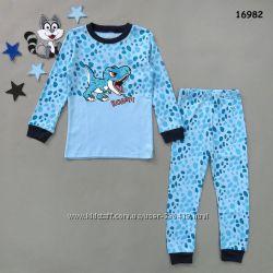 Большой ассортимент пижамок для мальчиков и девочек
