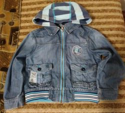 Крутая джинсовая куртка-пиджак Next