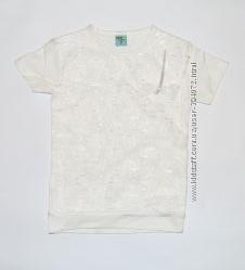 Школьная футболка для девочек с коротким рукавом