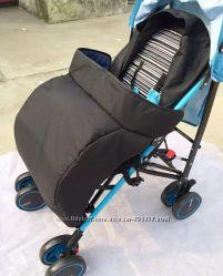 Чехол муфта на коляску для ног Накидка для ног. Защита от ветра, дождя