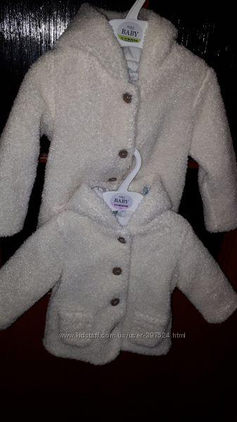 Демисезонная куртка Marks & Spenser для девочки на 3-6 месяцев вес 8кг, рос