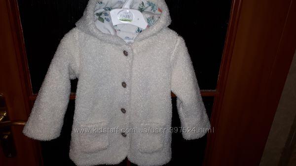 Демисезонная куртка Marks & Spenser для девочки на 12-18мес. , рост 83см