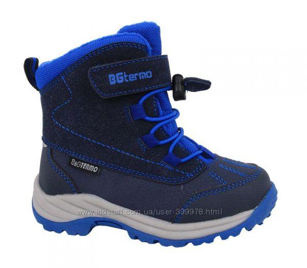 Зимние термоботинок BG-Termo - Супер качество для девочек и мальчиков f57a8bf054ba6