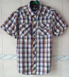 Брендовые рубашки 12-13-14 л.