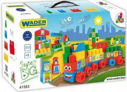 Конструктор Wader Middle Blocks Супер большой 140 элементов 41583