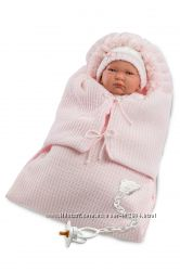Испанская  Кукла Llorens 74040 Лала со спальным конвертом 42 см