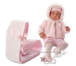 Кукла Llorens 84422 Беба со слингом 44 см