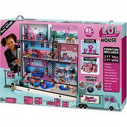 LOL Suprise New огромный кукольный домик лол  LOL 555001 новая семья