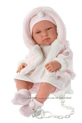 Испанская Кукла Llorens 84312 Младенец Тина 43 cm