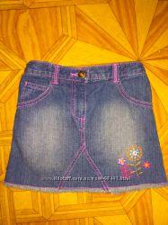 Джинсовая юбка Cherokee, 110р.