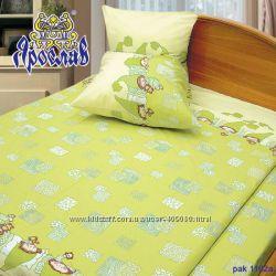 Детский постельный комплект 1, 5 бязь, Ярослав