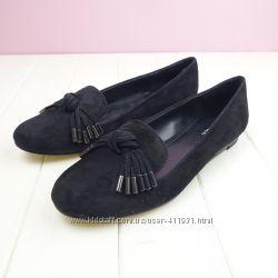 Замшевые туфли Calvin Klein 6 и 6, 5 оригинал