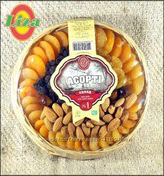 Сухофрукты и орехи в подарок