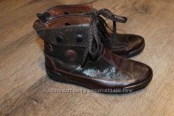 Демисезонные кожаные ботинки р. 36
