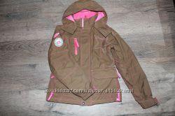 Зимняя куртка горнолыжная на девочку р. 160 S