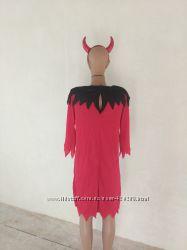 Карнавальный костюм чертовка S M на хэллоуин