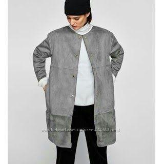 Необычно красивое пальто Zara Португалия р. M-L мой пролет