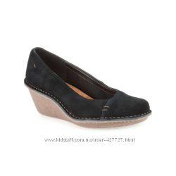 комфортные туфли Clarks Harlan, размер 6 Англия 25 см стелька, новые