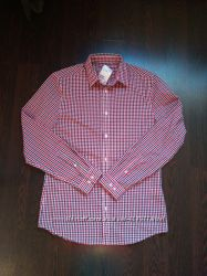 Размер М Новая красивая стильная фирменная мужская рубашка