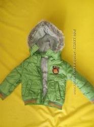 Куртка детская. 12-18 мес.  свитер в подарок