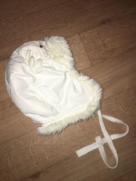 Зимняя шапочка Pupill на 1, 5-2 годика  ОГ 48