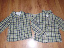Тепленькие рубашки для карапузов