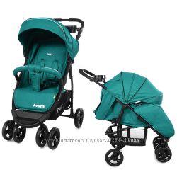 Коляска для новорожденных детская прогулочная Tilly Avanti T-1406 в льне