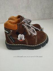 Демисезонные ботинки Disney, текстильные утепленные ботиночки