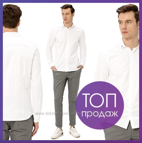 белая мужская рубашка LC Waikiki