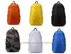 Защитный чехол дождевик на рюкзак и чемодан от грязи влагостойкий