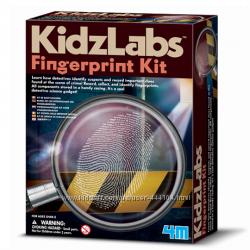 Набор для творчества Набор детектива Отпечатки пальцев 4М
