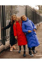 Длинное зимнее пальто  для девочки Zkd 10