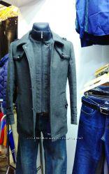 Демисезонное мужское пальто S, M, L. Турция. Сток.