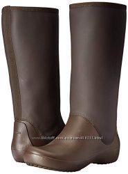 Резиновые сапоги Crocs RainFloe Tall Boot, оригинал