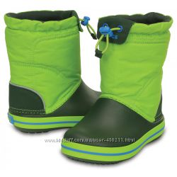 Детские сапоги Crocs Crocband LodgePoint Snow Boots, оригинал