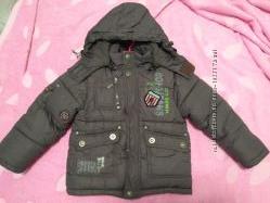 Куртка зимняя 98-104для мальчика
