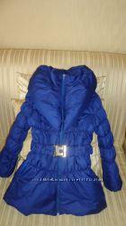Красивое деми пальто для девочки р7-9л.