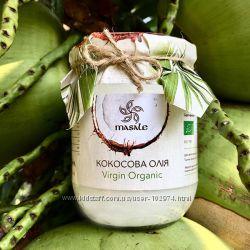Скидка Органическое кокосовое масло Премиум 500мл нерафинированное Шри Ланк
