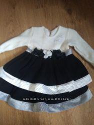 Теплое нарядное платье в идеальном состоянии