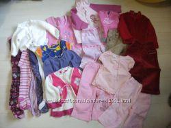 Пакет вещей на девочку 6 - 12 месяц 20шт